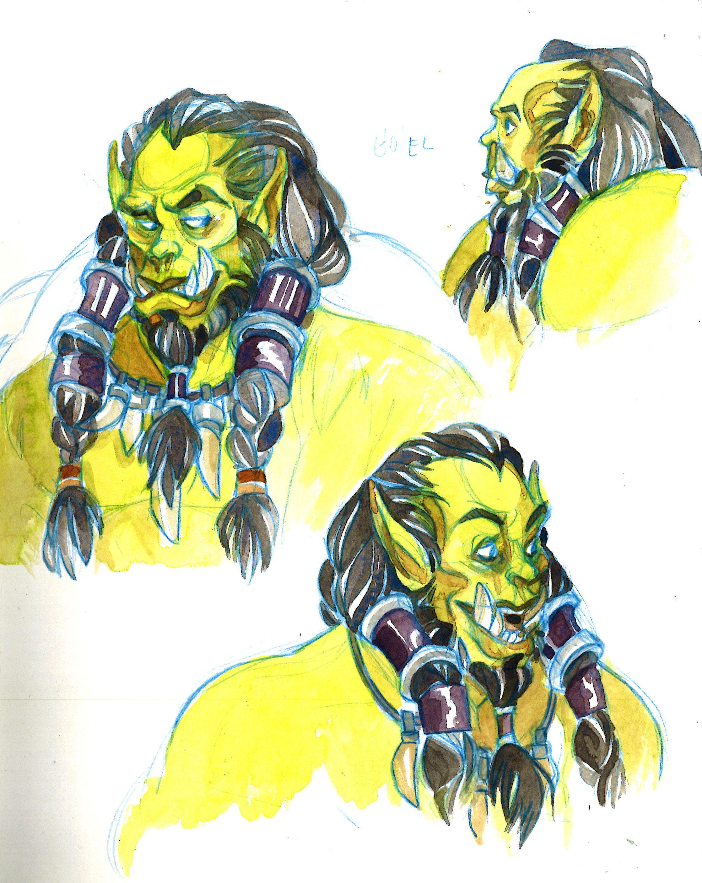 Anyone else think that Thrall's new model in BfA is super... charismatic? ;D
