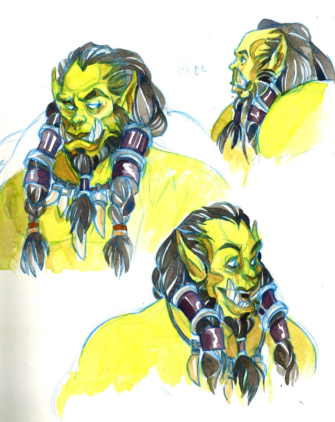 sketches: orc season
