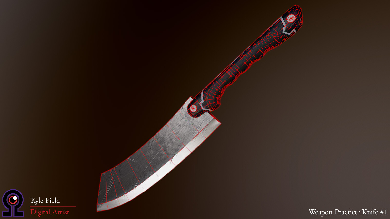 Kyle field knife 1 render 5 wireframe