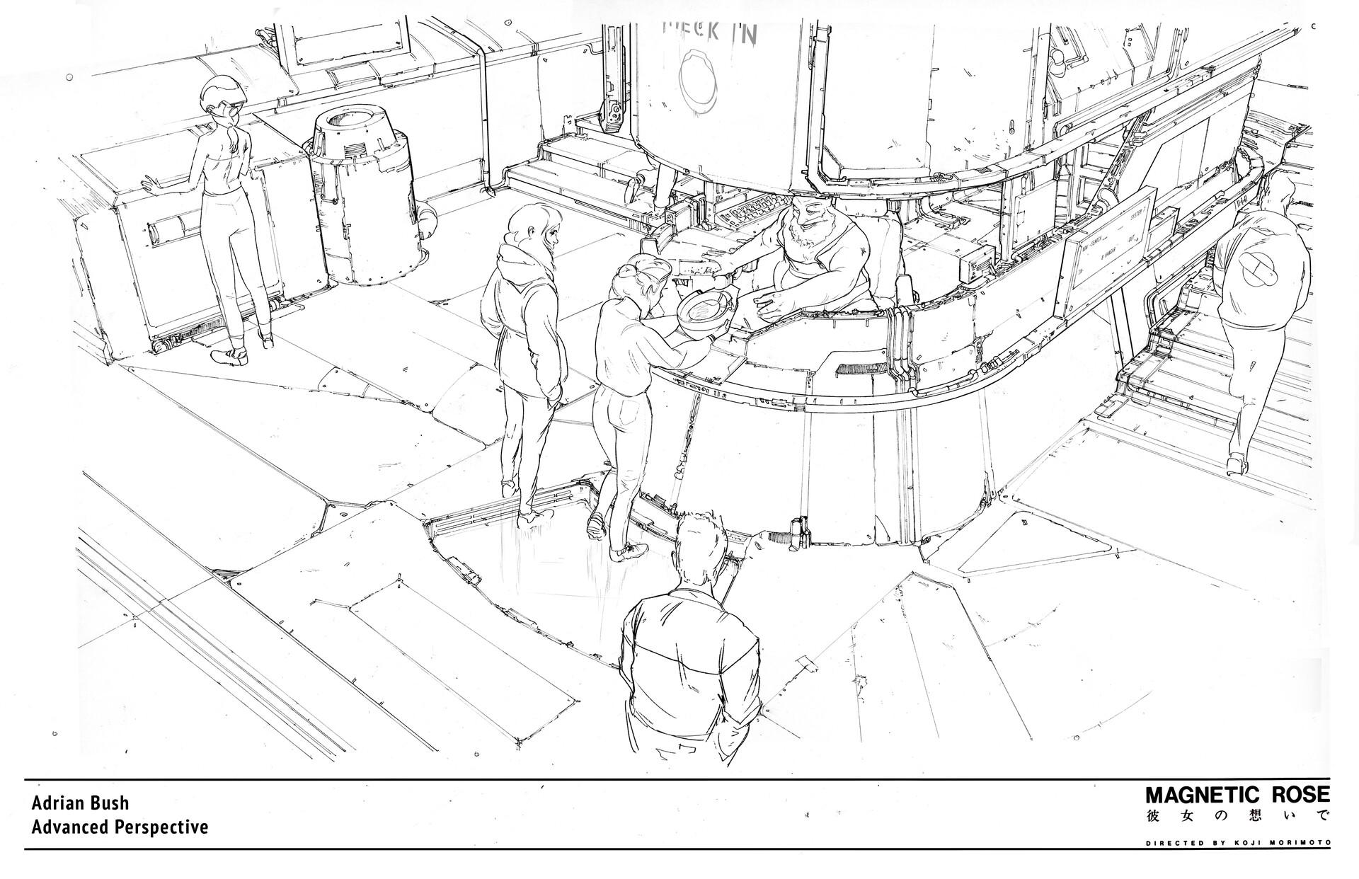 ArtStation - Theme Park Design, Adrian Bush