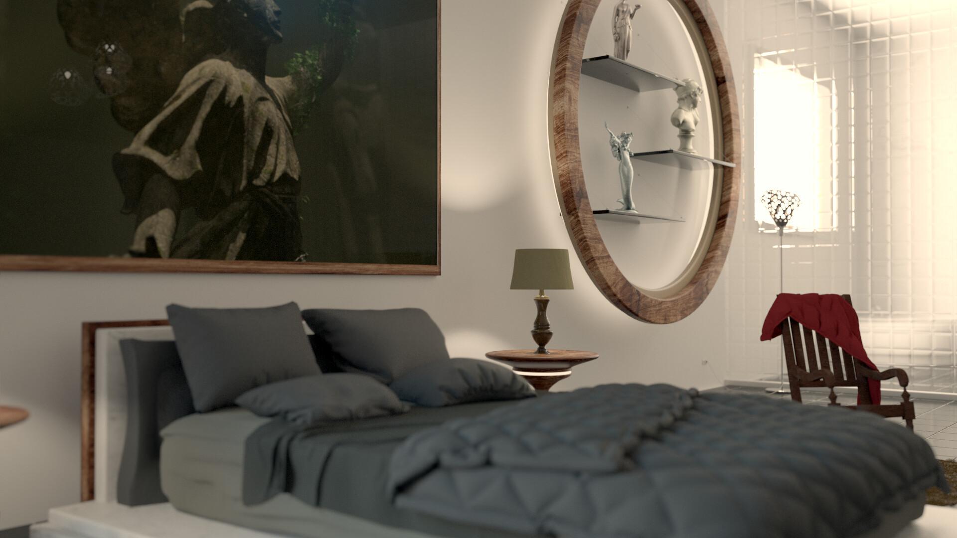 Artstation Realistic Bedroom Interior Design Picsell Global