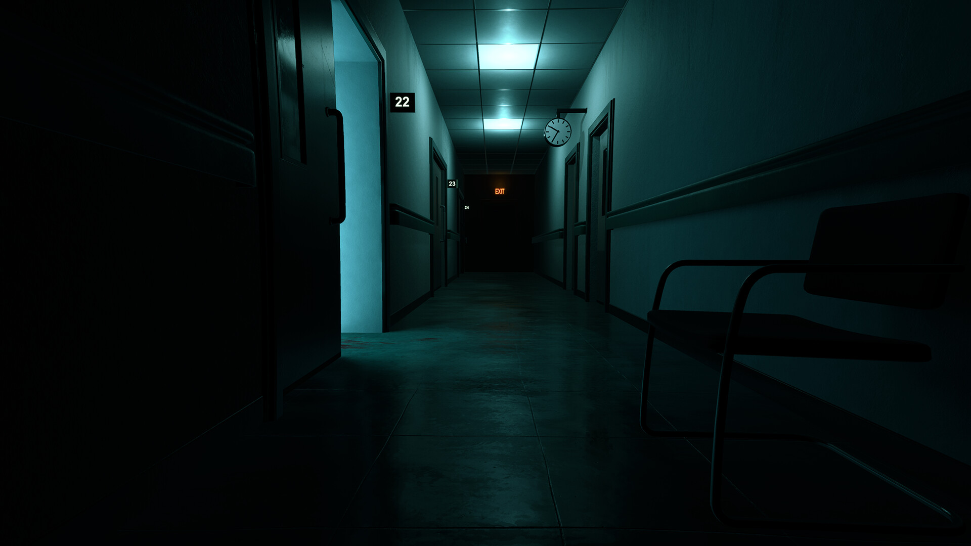 ArtStation - Hospital Corridor - HD Render Pipeline (Unity), Astrid