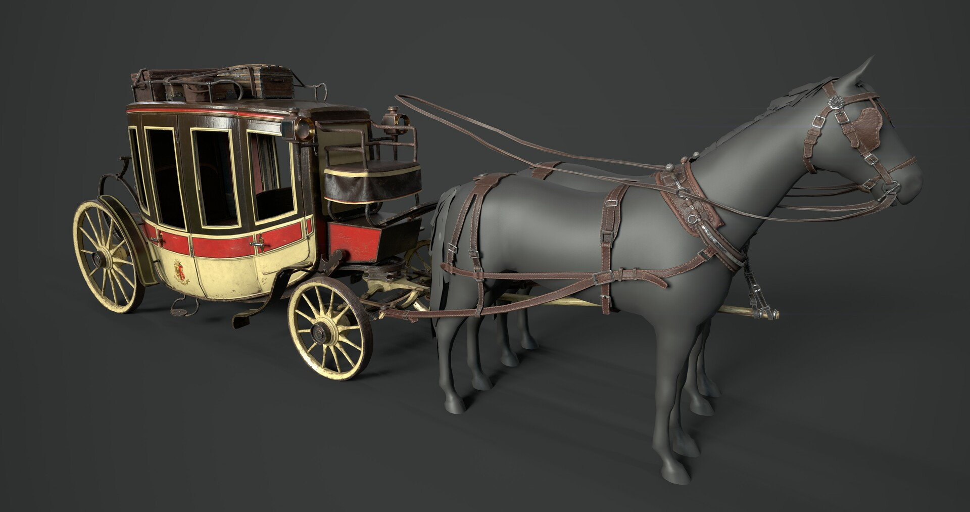 Tristan siodlak carriage 1