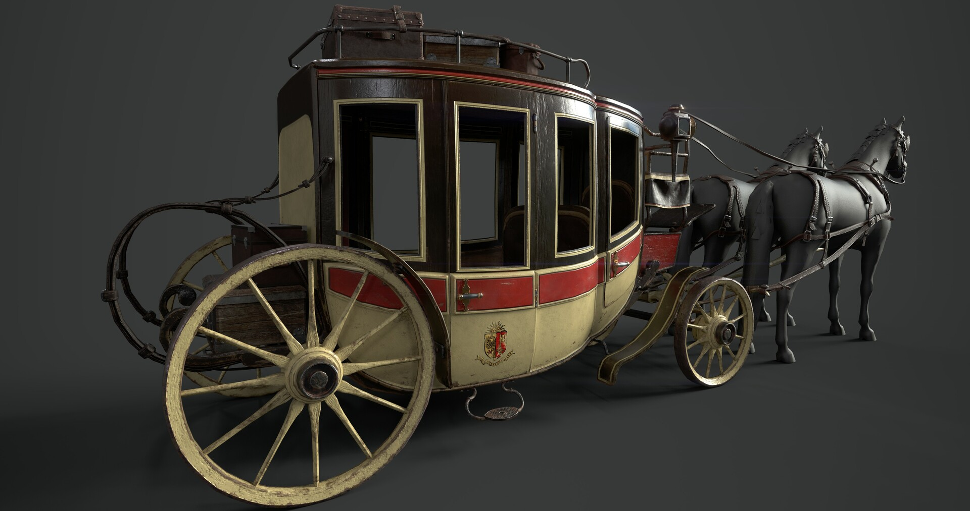 Tristan siodlak carriage 2