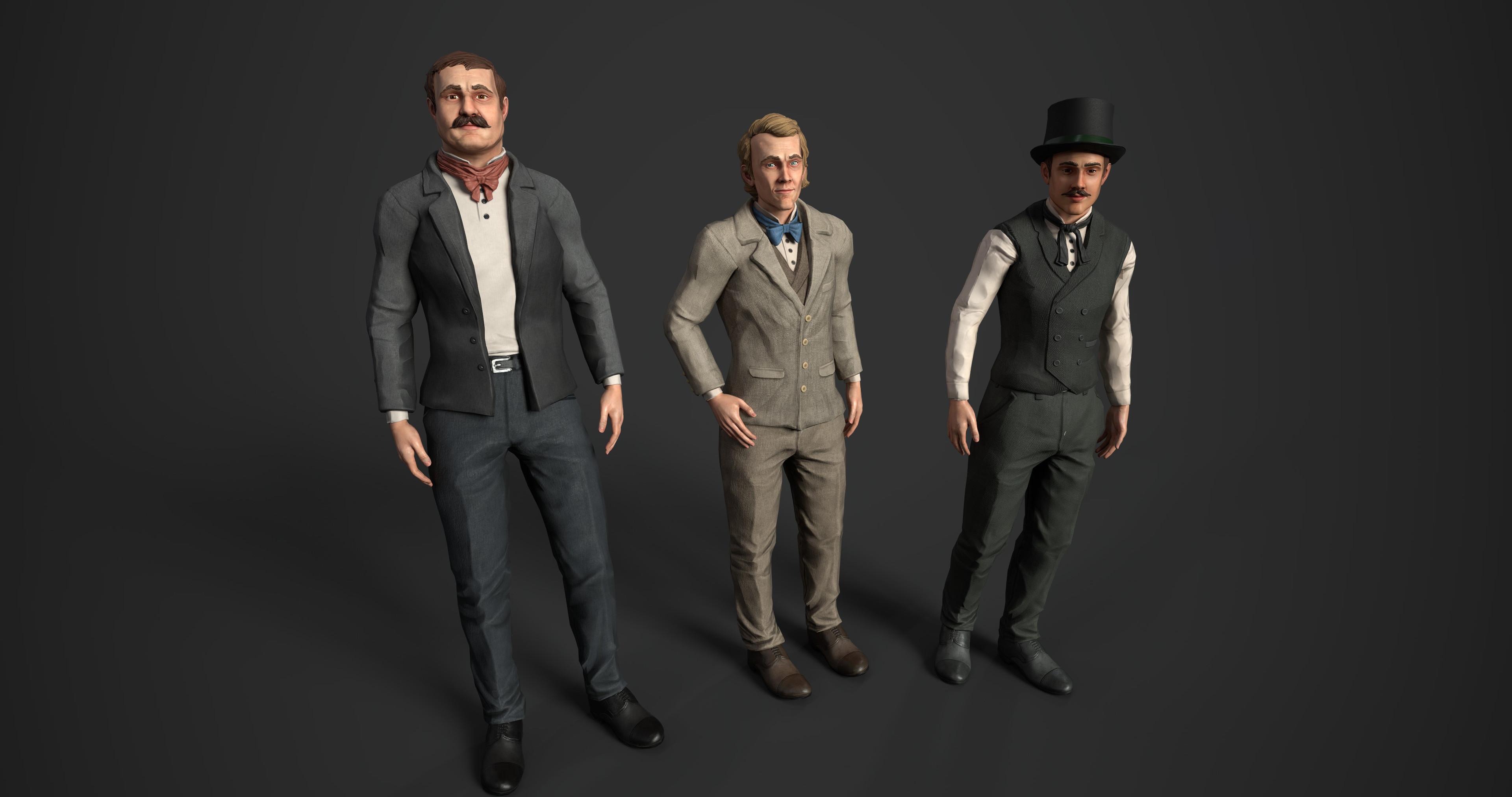 High society characters