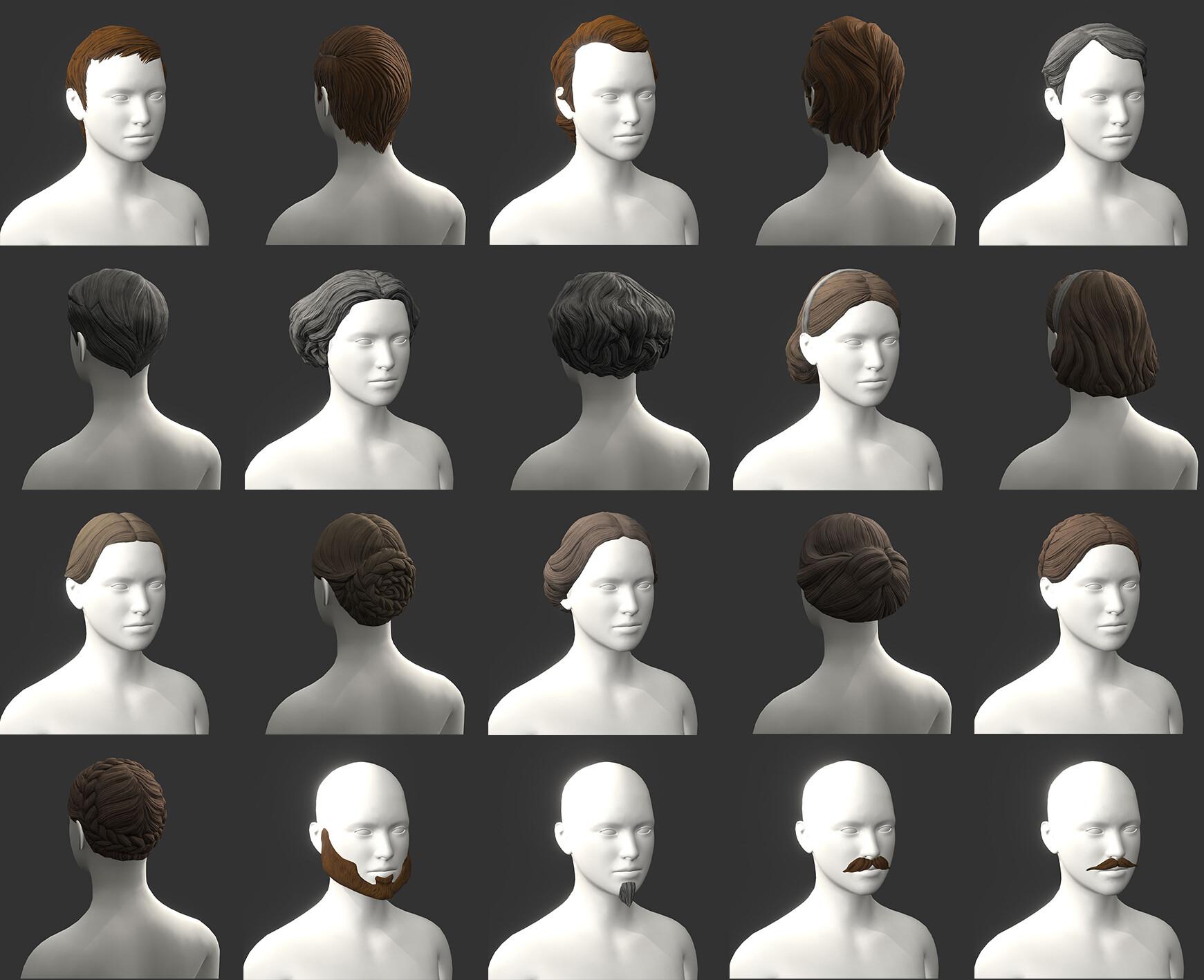 Hairs Variations