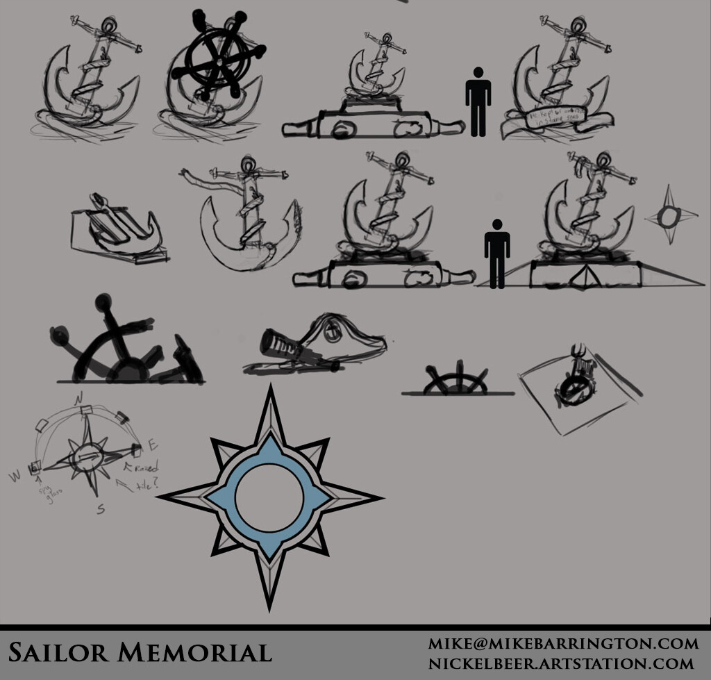 Michael barrington sailormemorial concepts