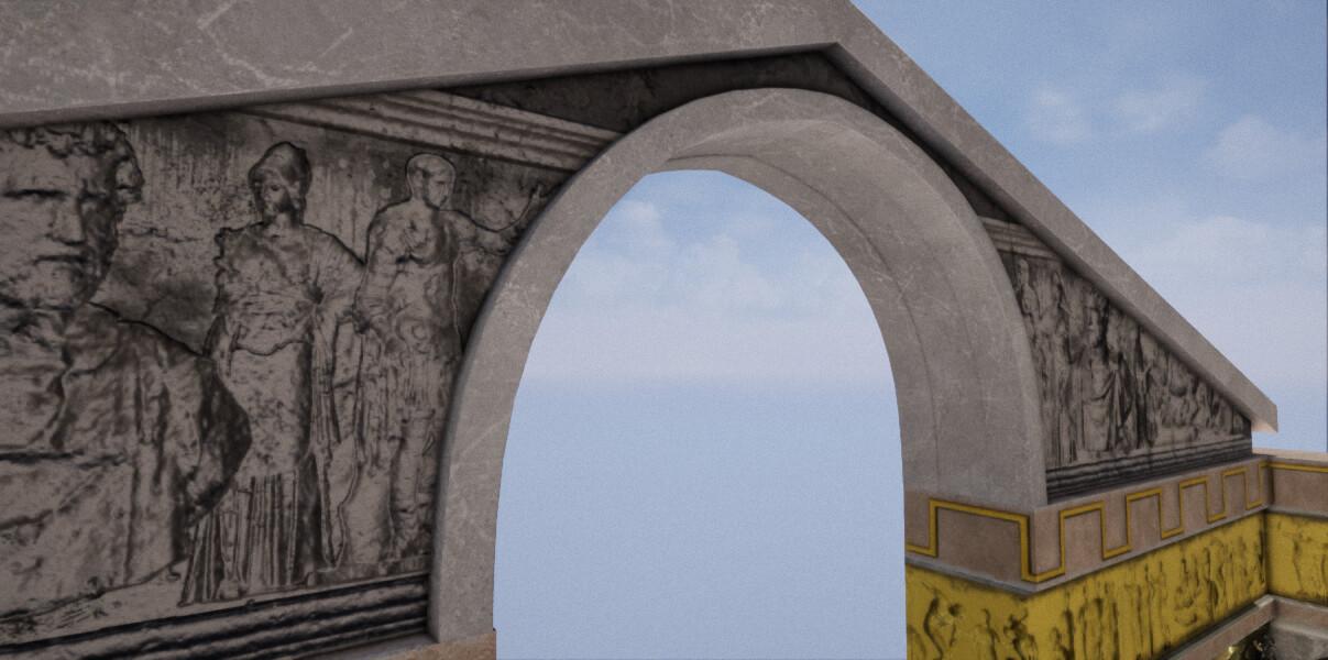 ArtStation - [WIP] Soul Calibur 2 - Eurydice Shrine Remake, Blake