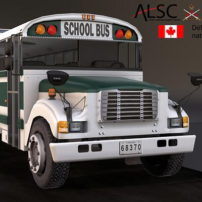 Military School Bus