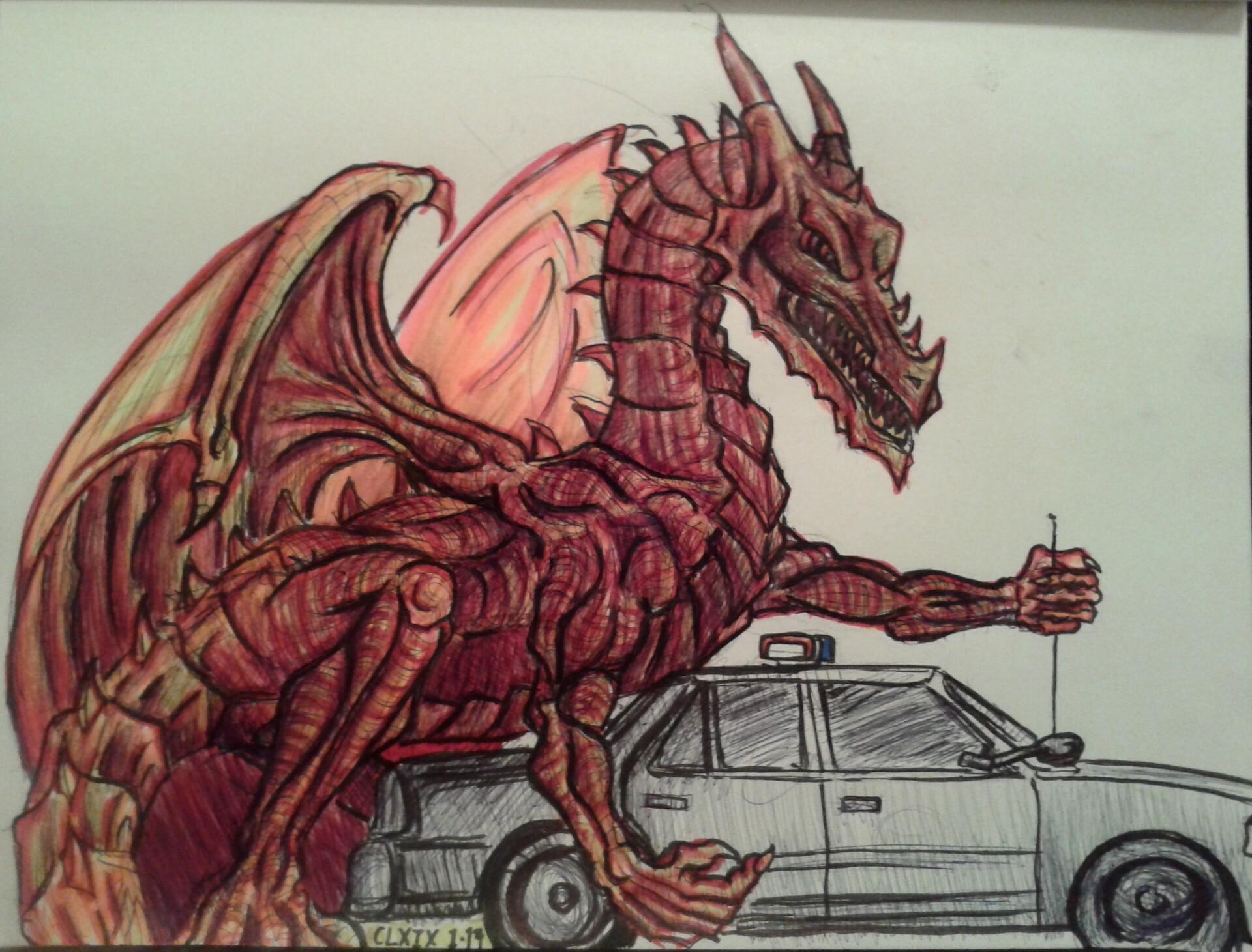 Daniel denta dragon police