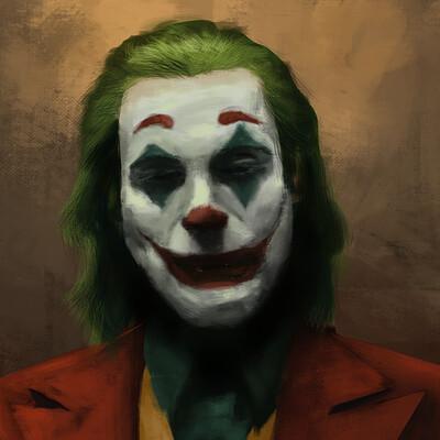 Jarold moreno colour study joker