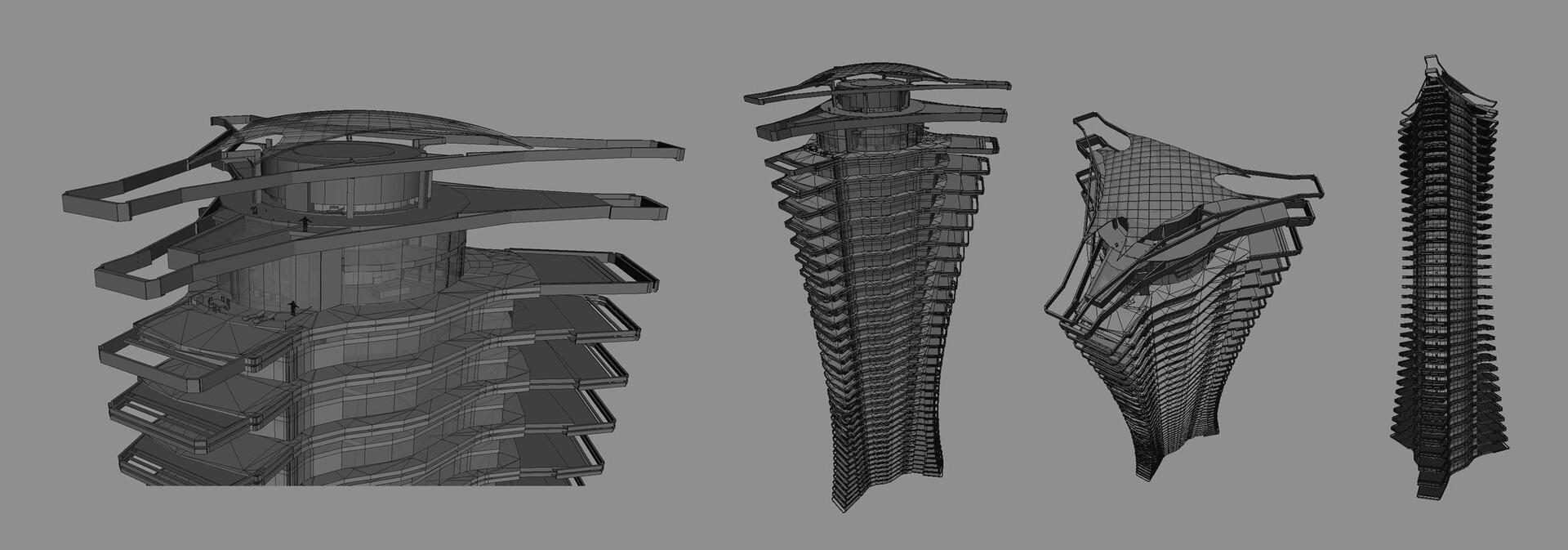 Concept art 3D