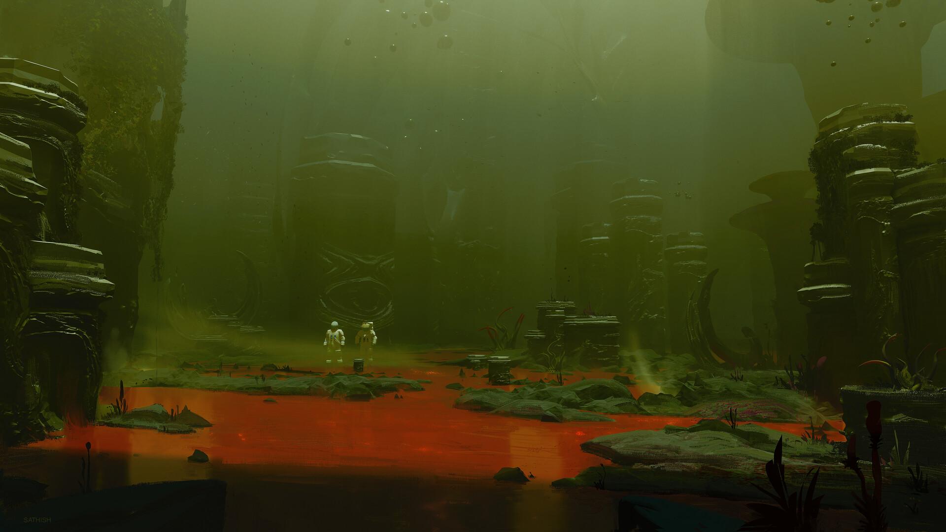 Sathish kumar alienworld exploration 01