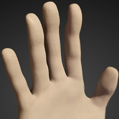Michael jake carter human hand front