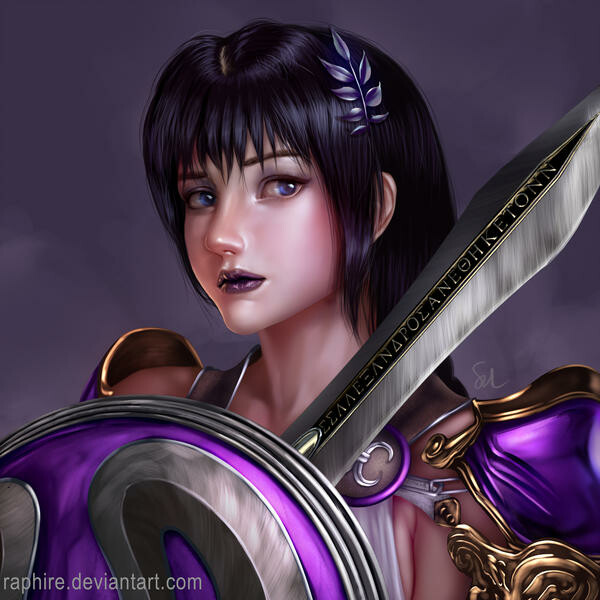 ArtStation - Gloomy Sophitia (Soul Calibur VI), Sol Tan