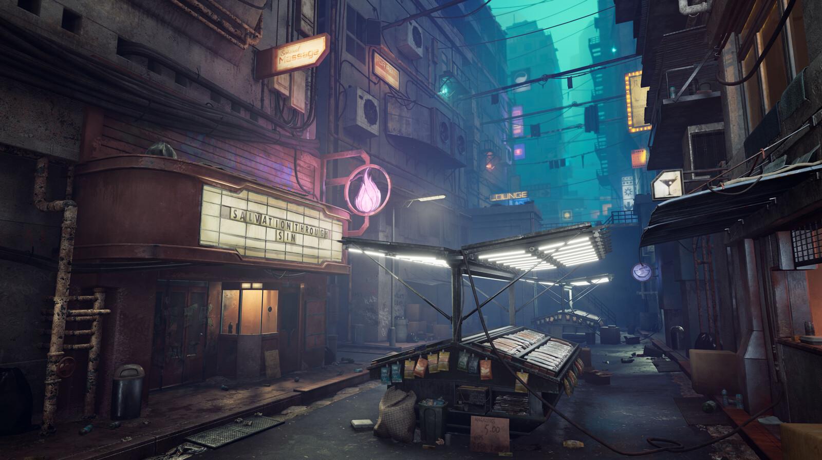Dystopian Street