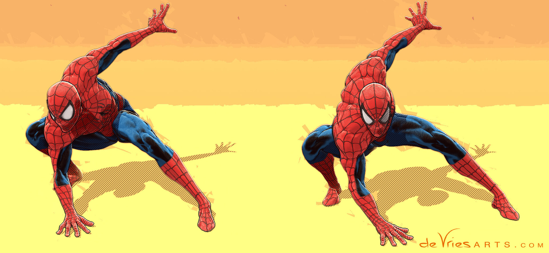 Thijs de vries crouch2 spiderman thijsdevries devriesarts