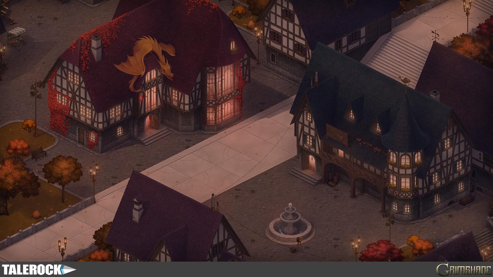 Reunion Square — in-game screenshot