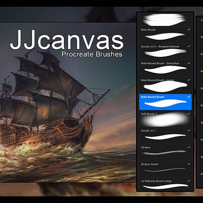 Jorge jacinto procreate brushes banner