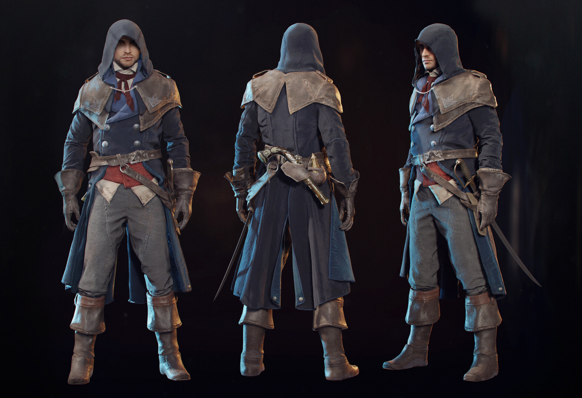 Artstation Arno Assassin S Creed Unity 2014 Raphael Boyon