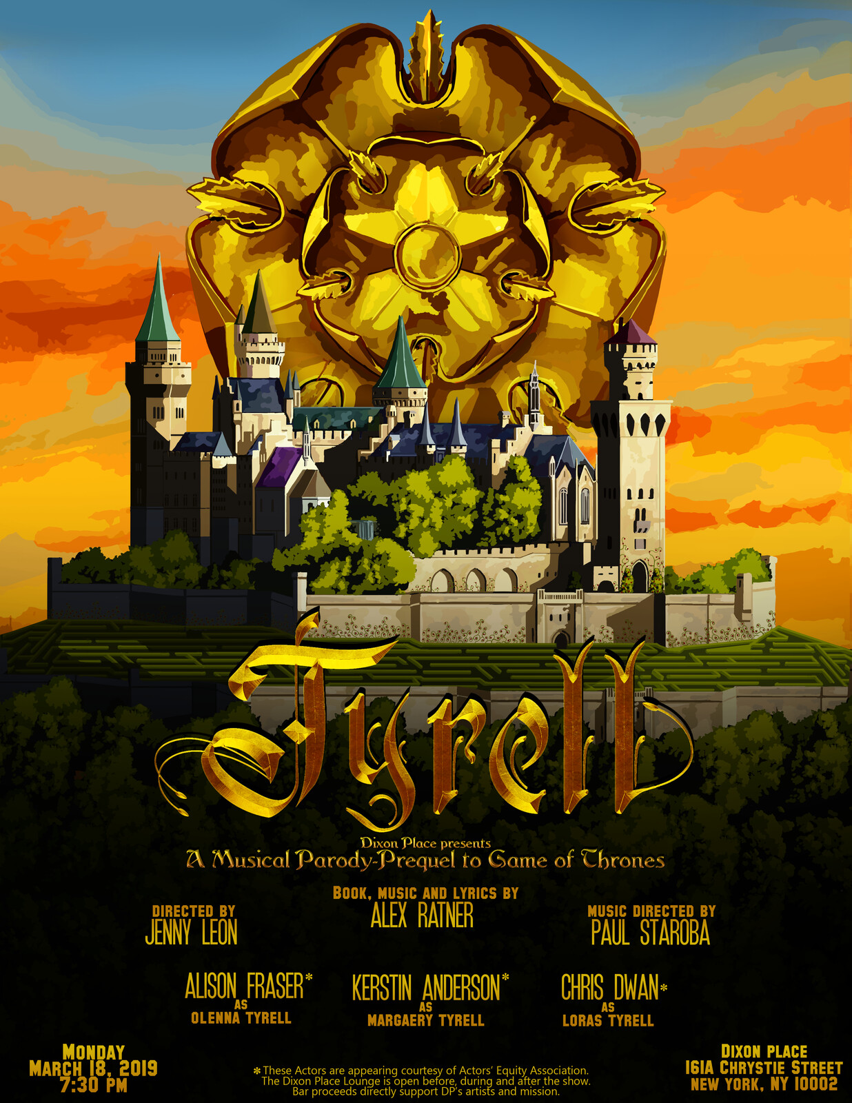Tyrell Musical Poster