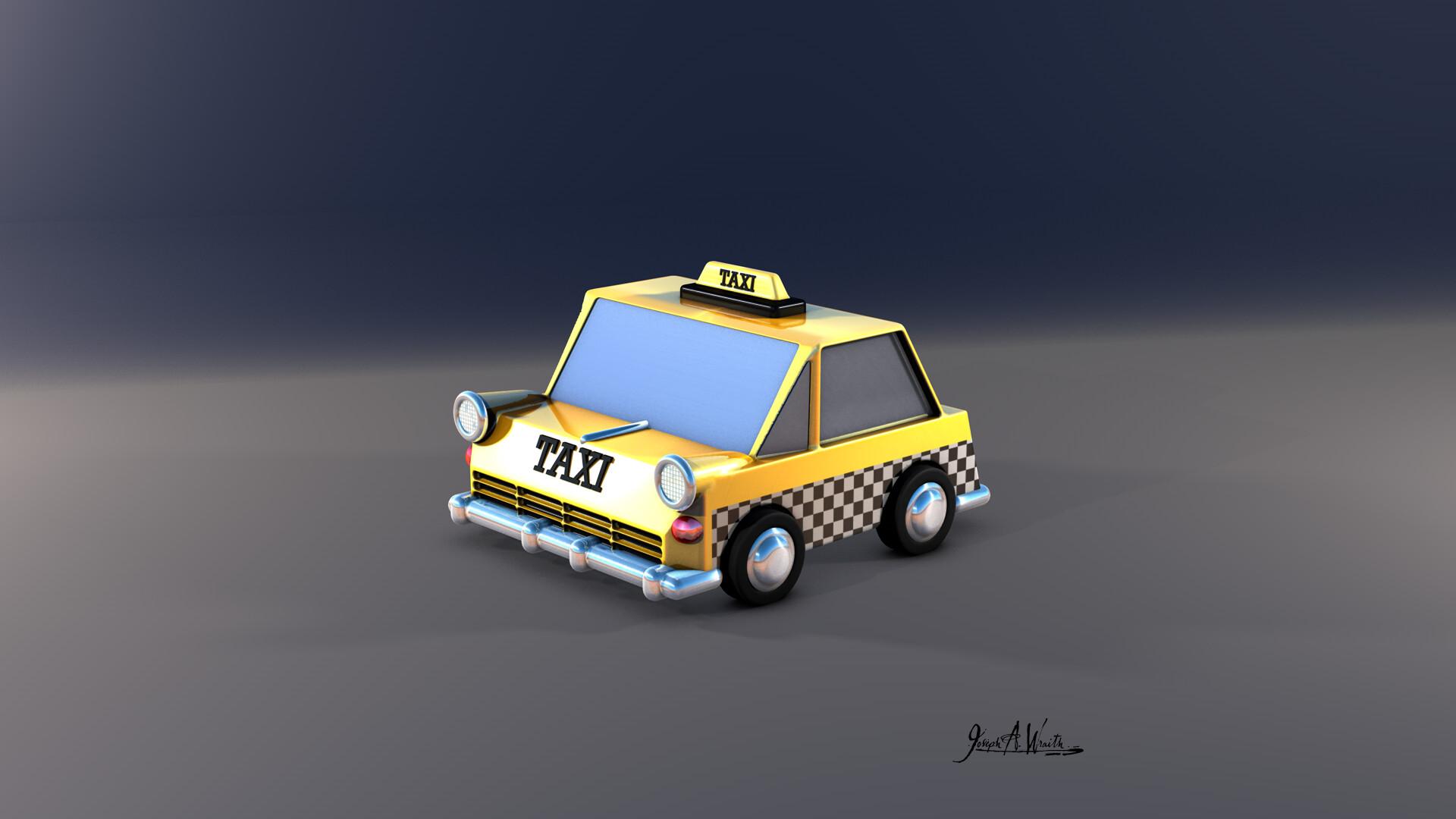 Joseph wraith taxi 01
