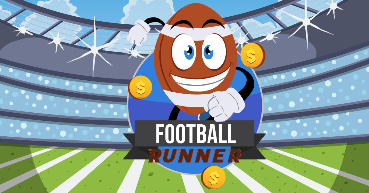 Football Runner App Promo Art