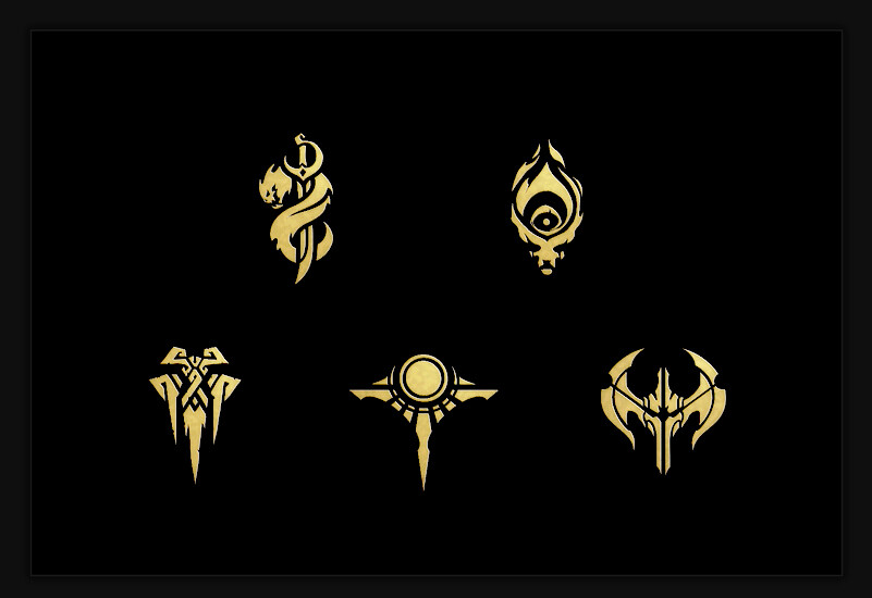 League of Legends Faction Icons