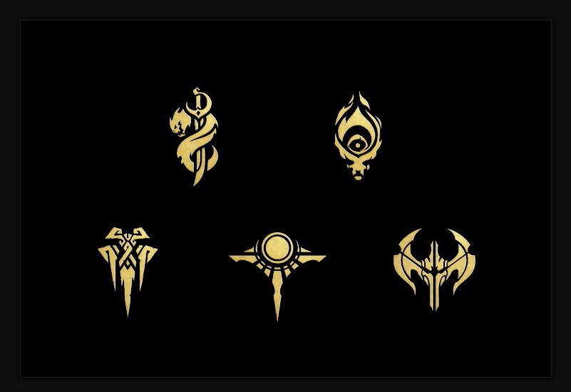 League of Legends Faction Icons