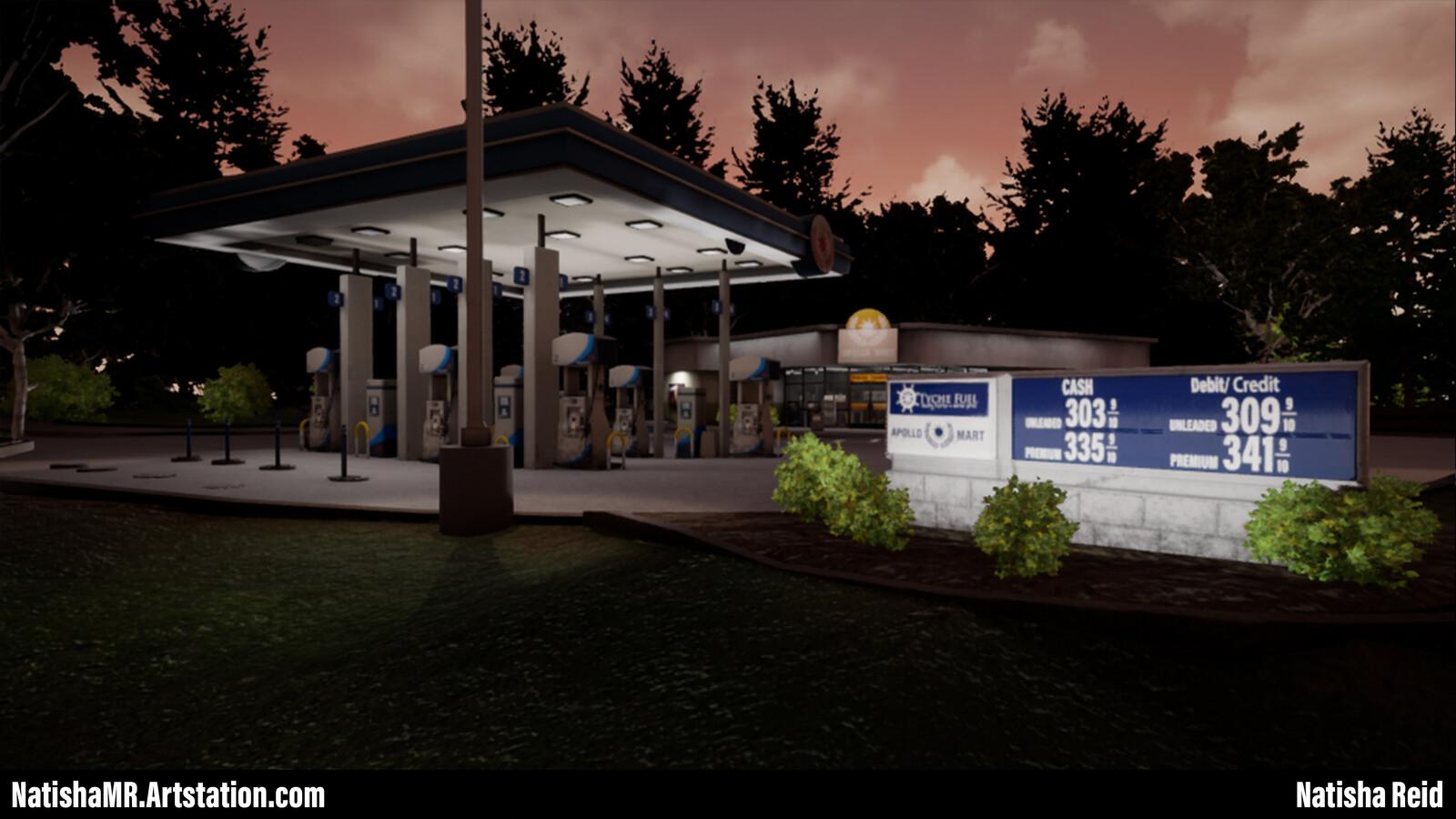 Apollo Gas Station