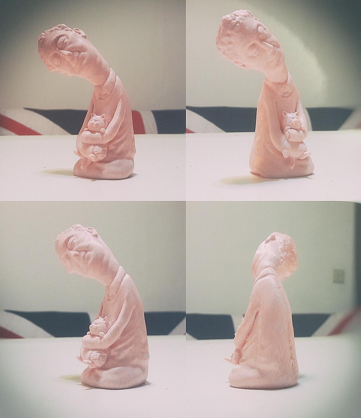 Accompany 3D printing