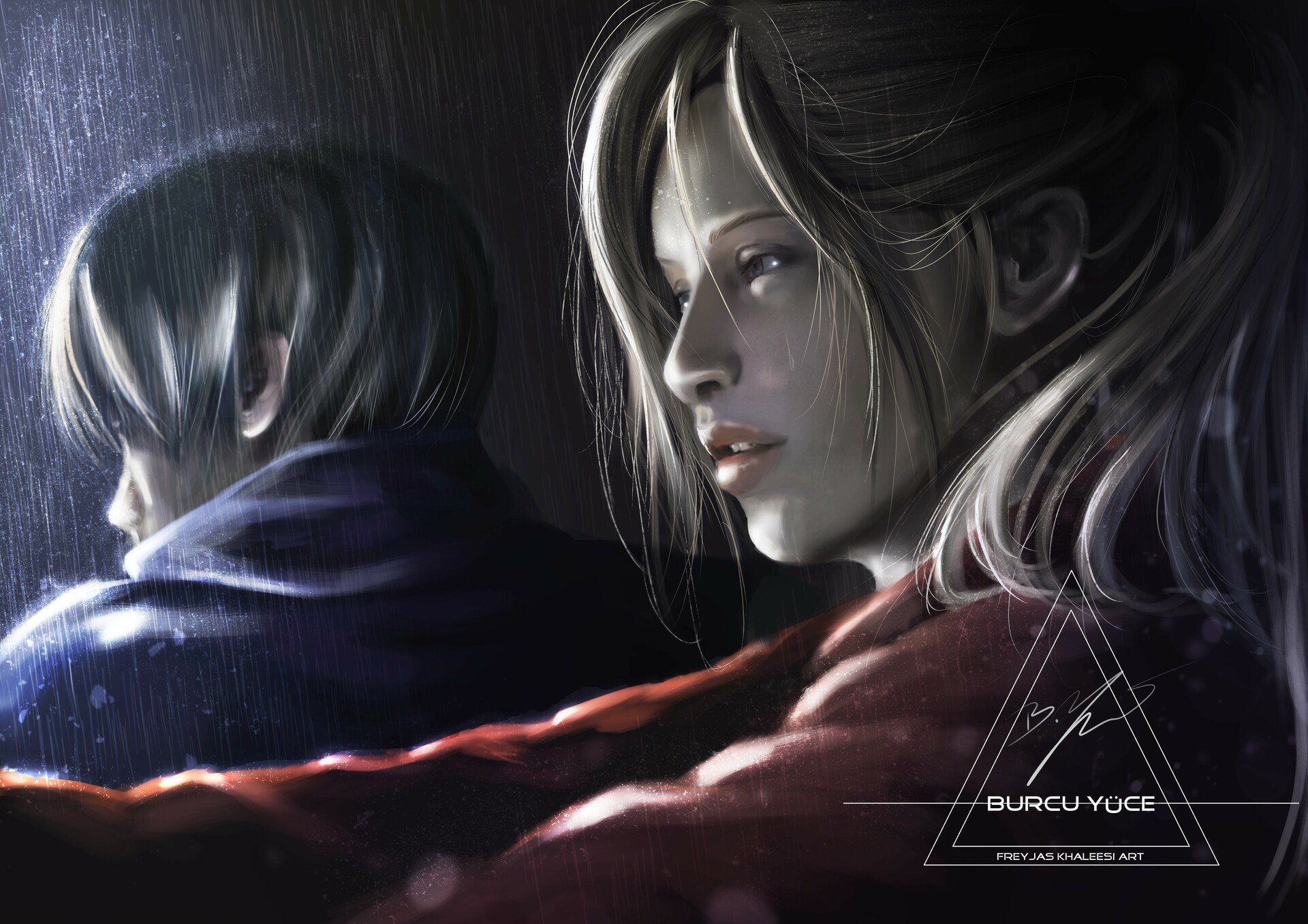 Artstation Claire And Leon Resident Evil 2 Remake Burcu Yuce