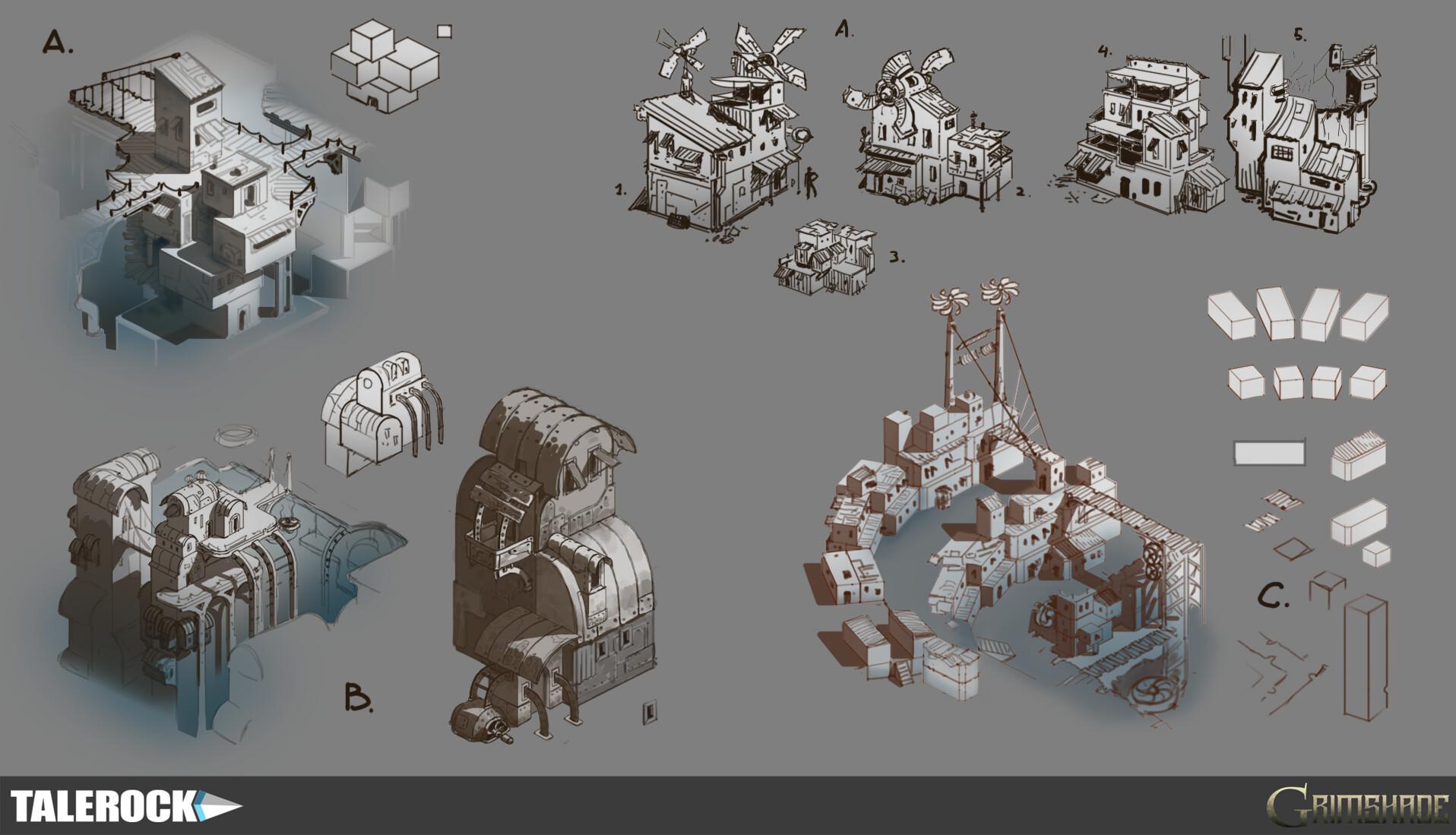 Talerock studio slum architecture concept