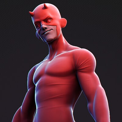Yan sculpts dare devil 02