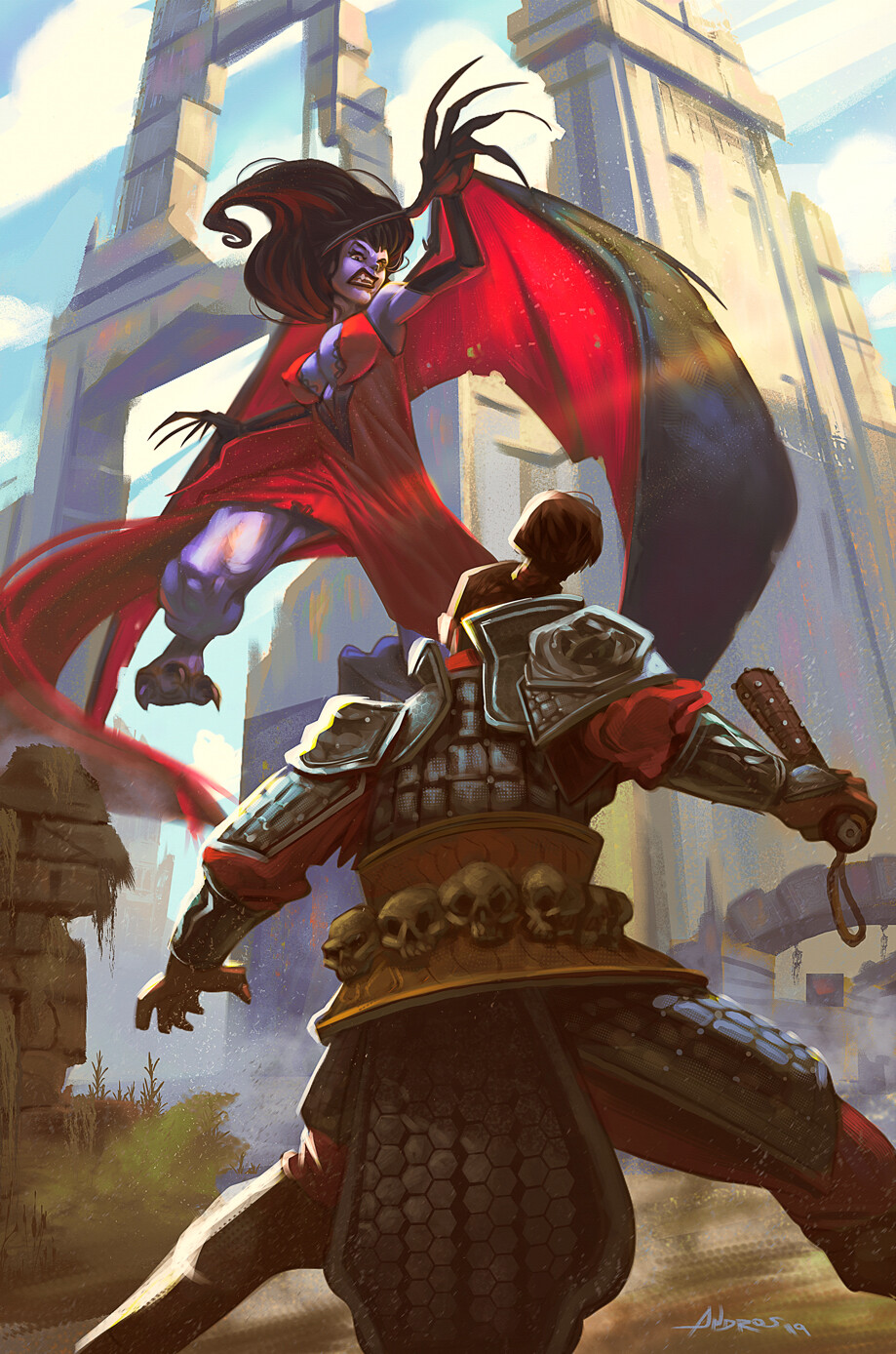 Lilith vs Bane