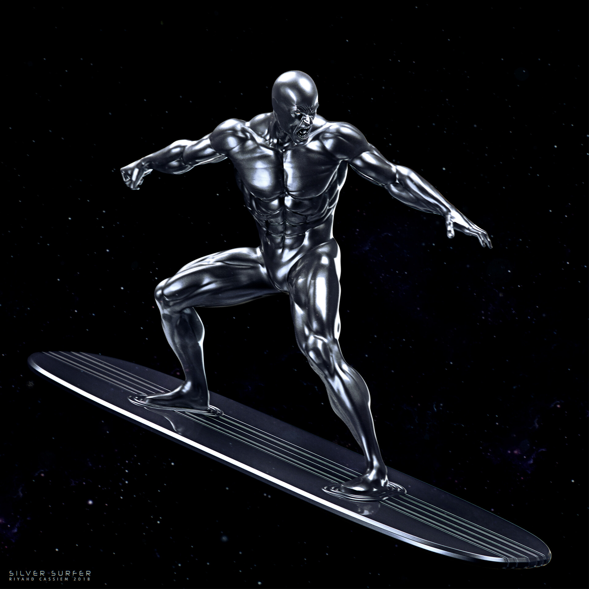 Riyahd cassiem iron surfer4s