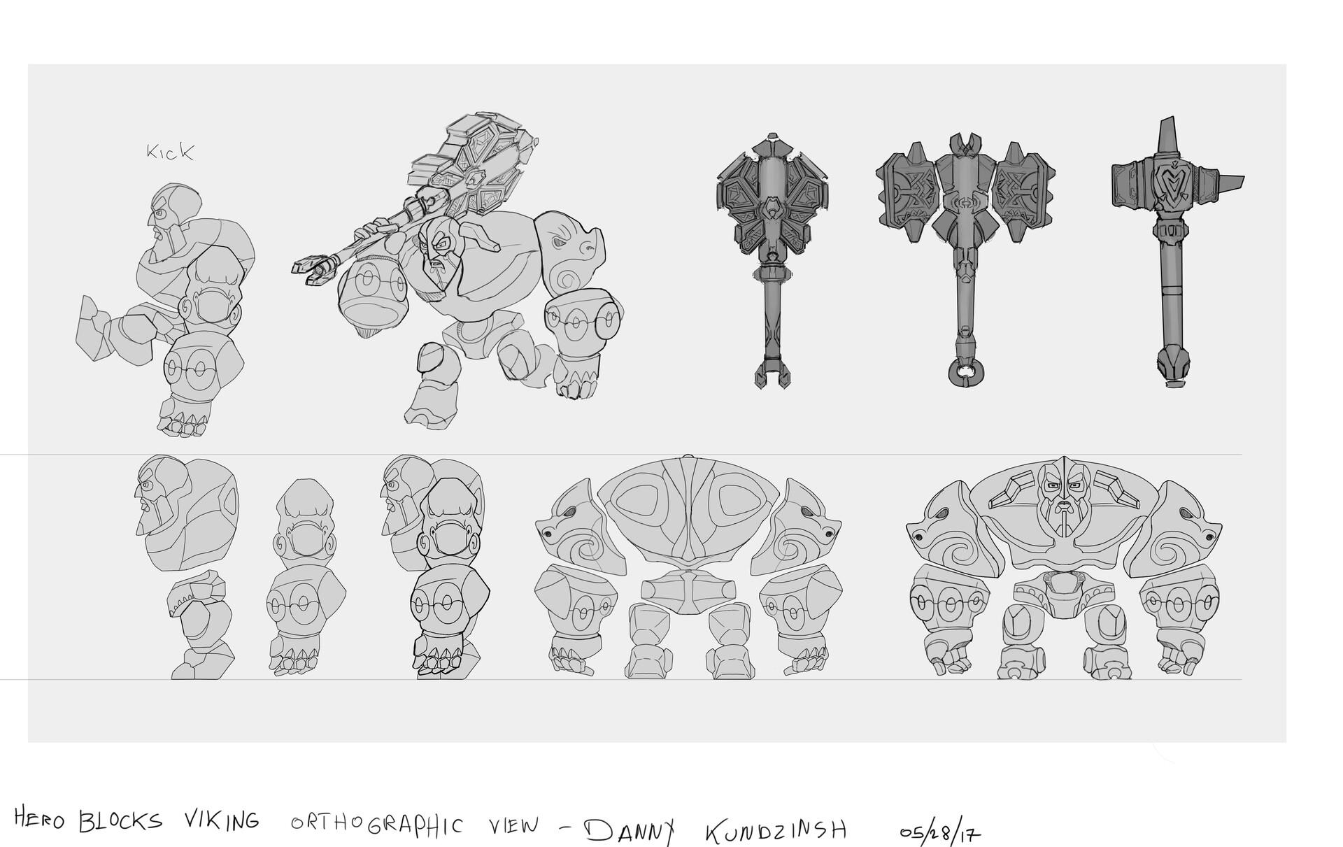 Danny kundzinsh danny kundzinsh hero blocks viking concept art orthos v1
