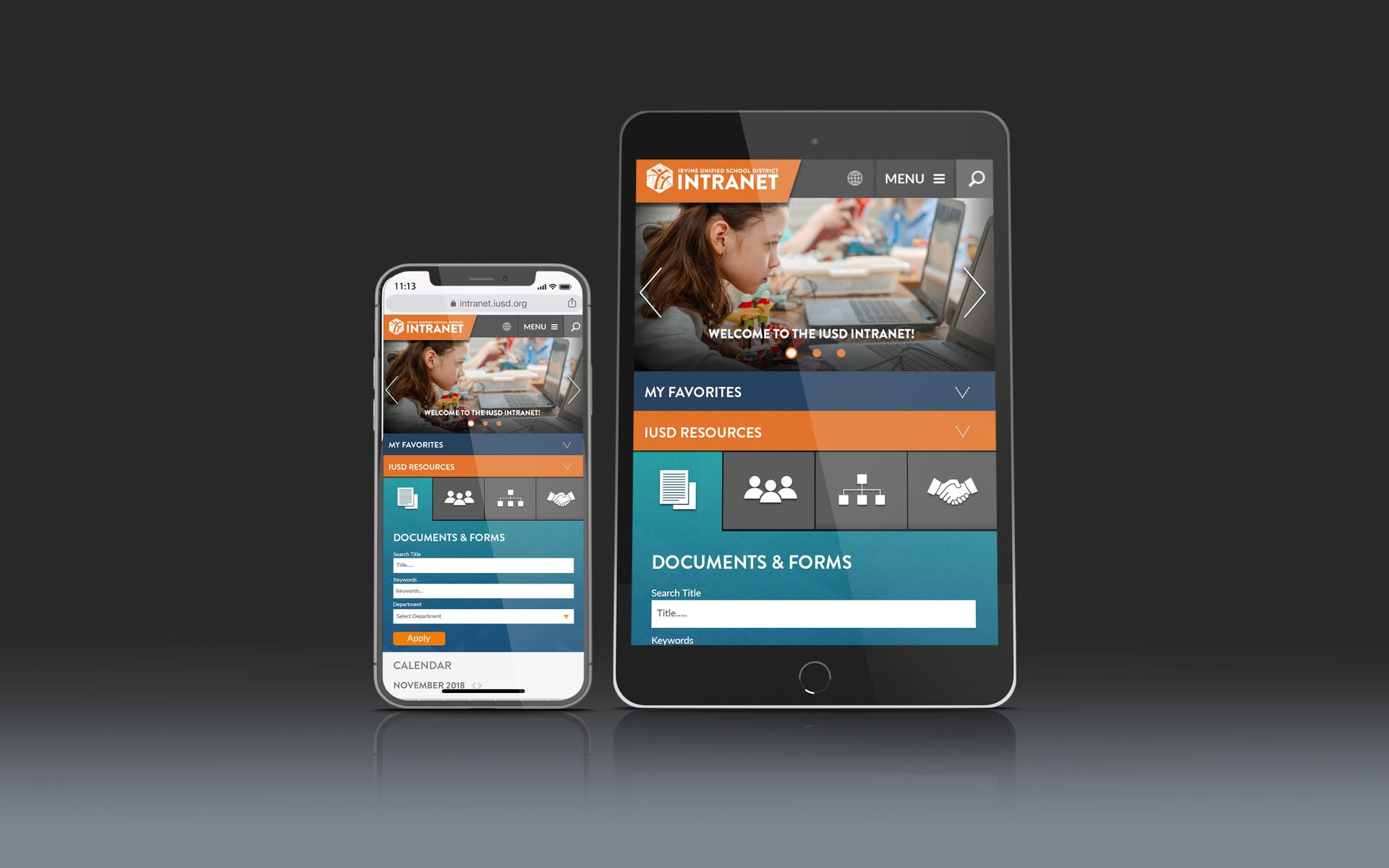 Kyle miller intranet mobile