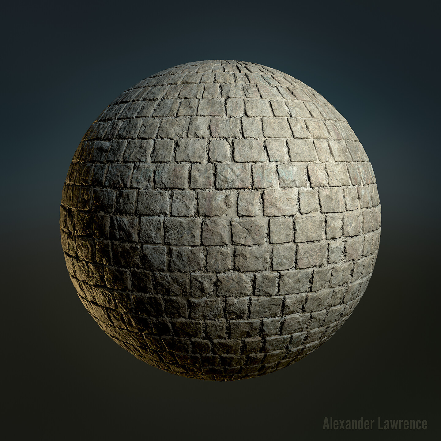One of the primary wall materials. The albedo is intentionally left somewhat bland and uniform so that I can multiply grunge over it in the Unreal material editor. Heightmap generated in Zbrush.