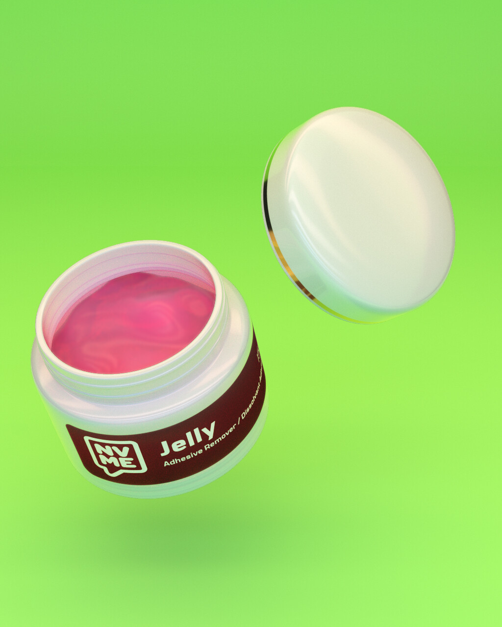 Jelly Eyelash Extension Adhesive Remover