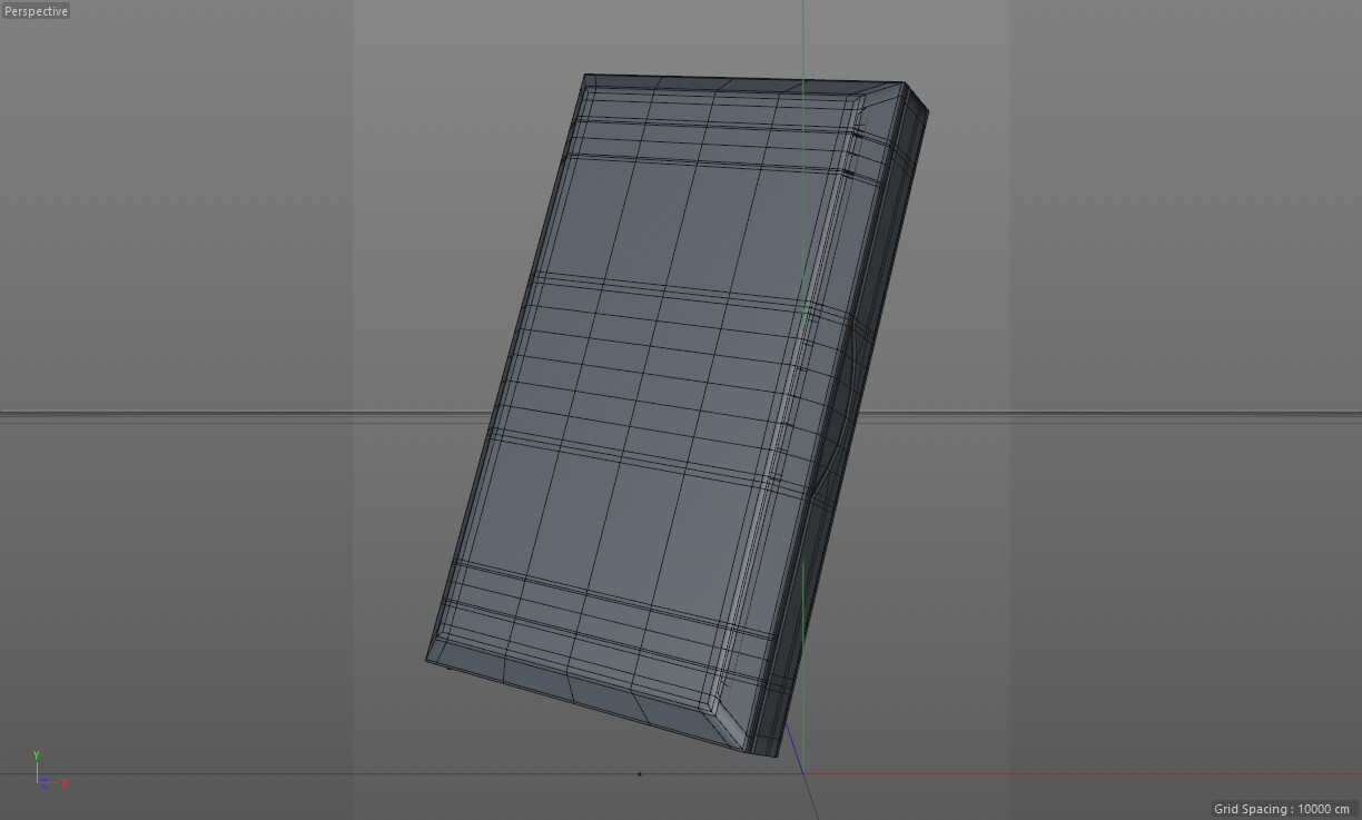Lash Box Closed / Viewport Wireframe