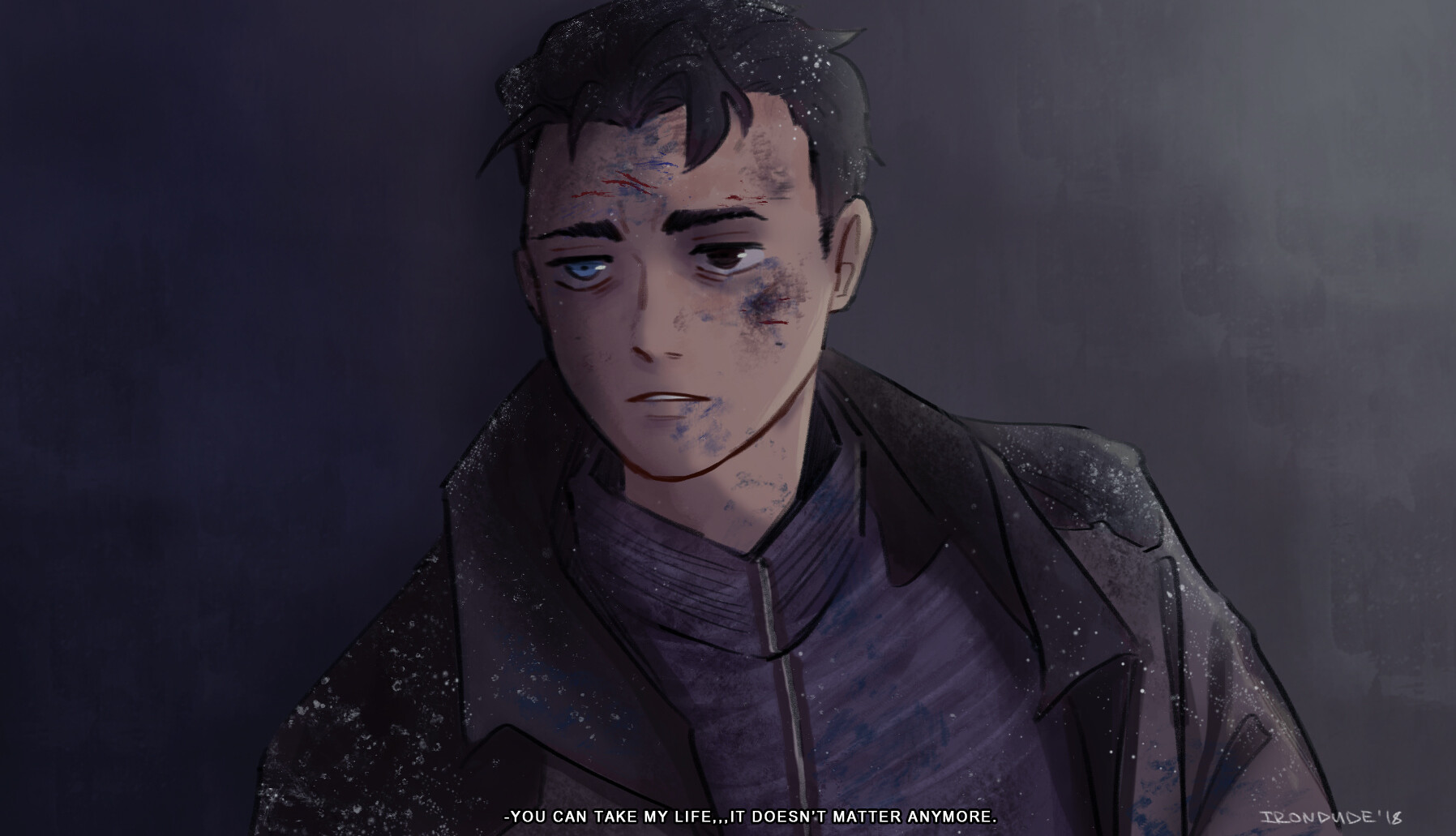 Connor (the leader of Jericho)