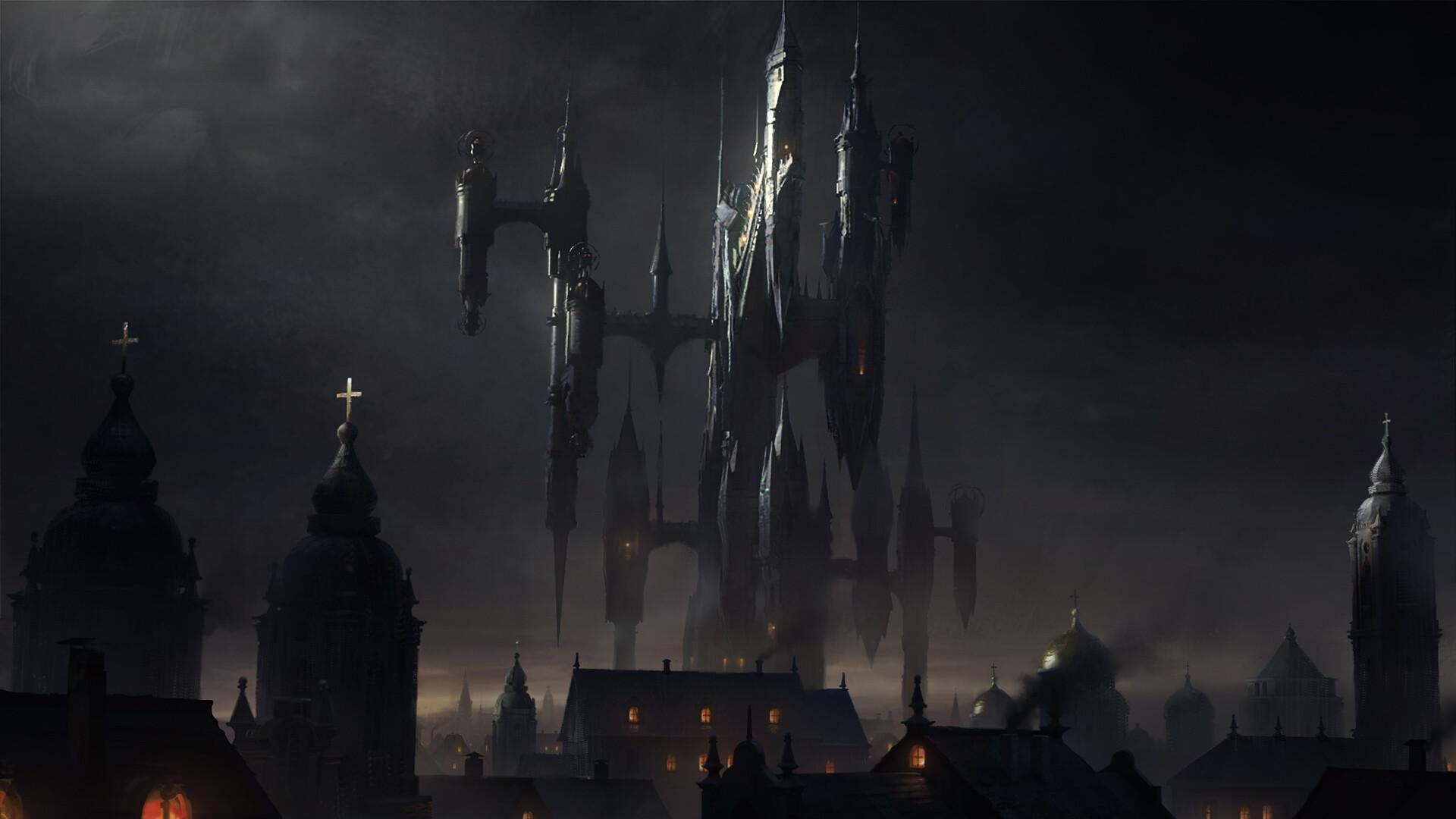Sean vo braila curse castle night