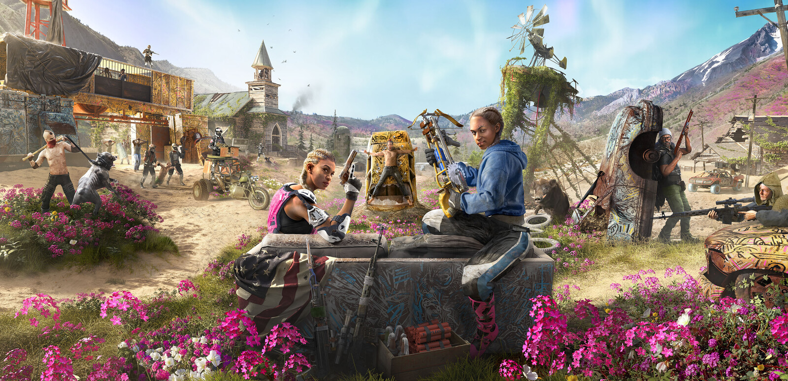 Far Cry: New Dawn Keyart