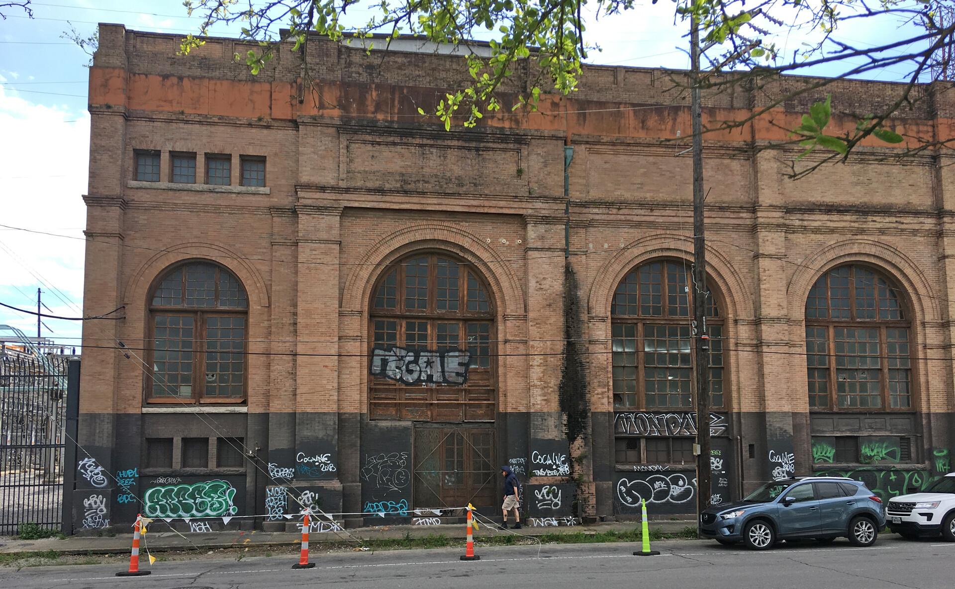 Old Garage location