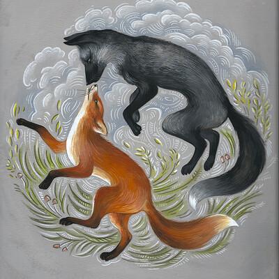 Olga dannik foxes