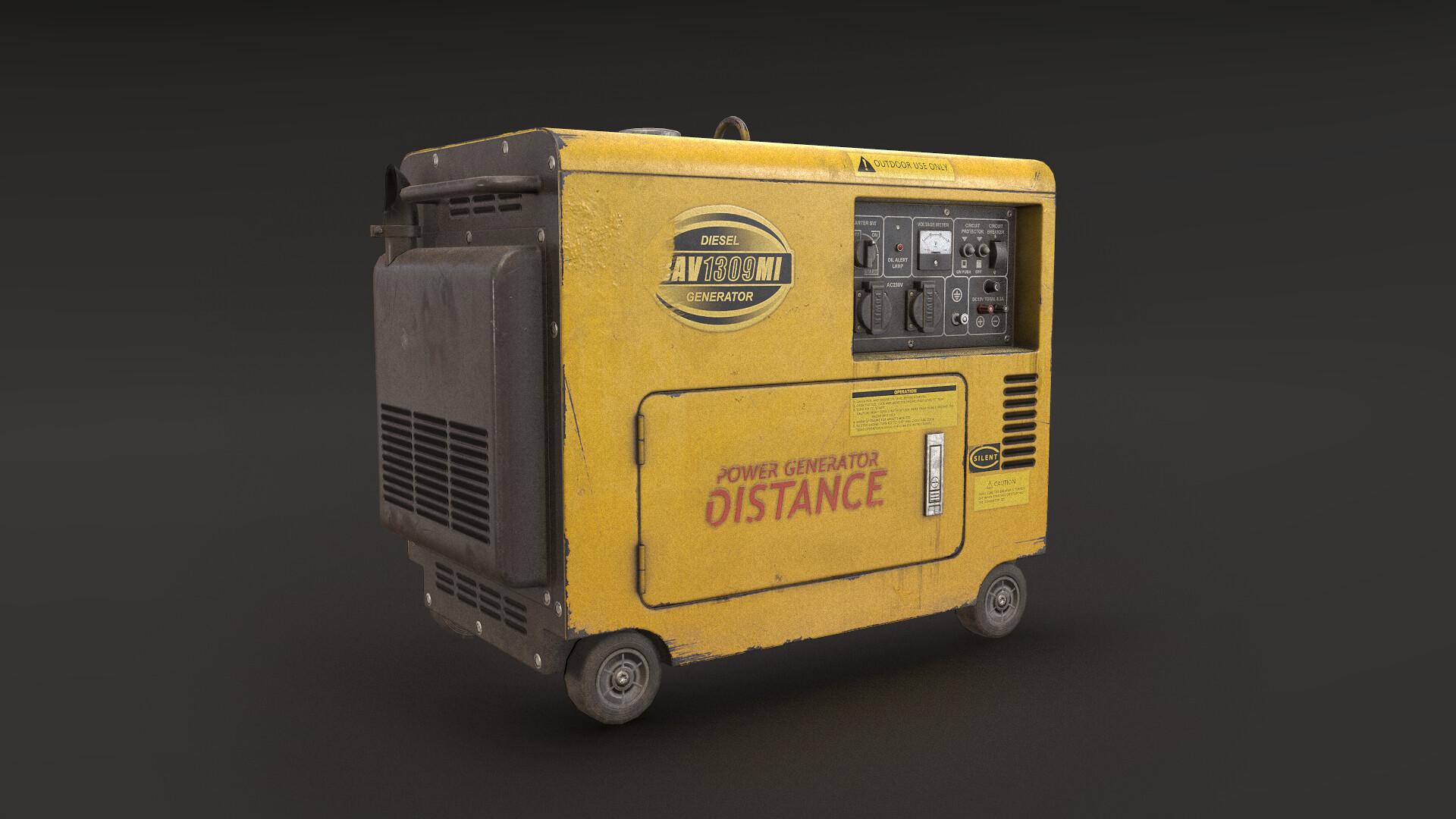 Aleksandr Biketov - Portable power generator