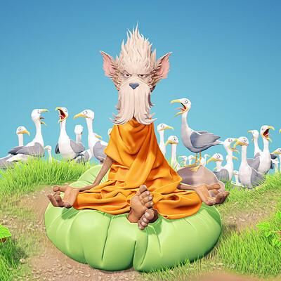 Thijs de vries 01 yogi thijsdevries devriesarts com