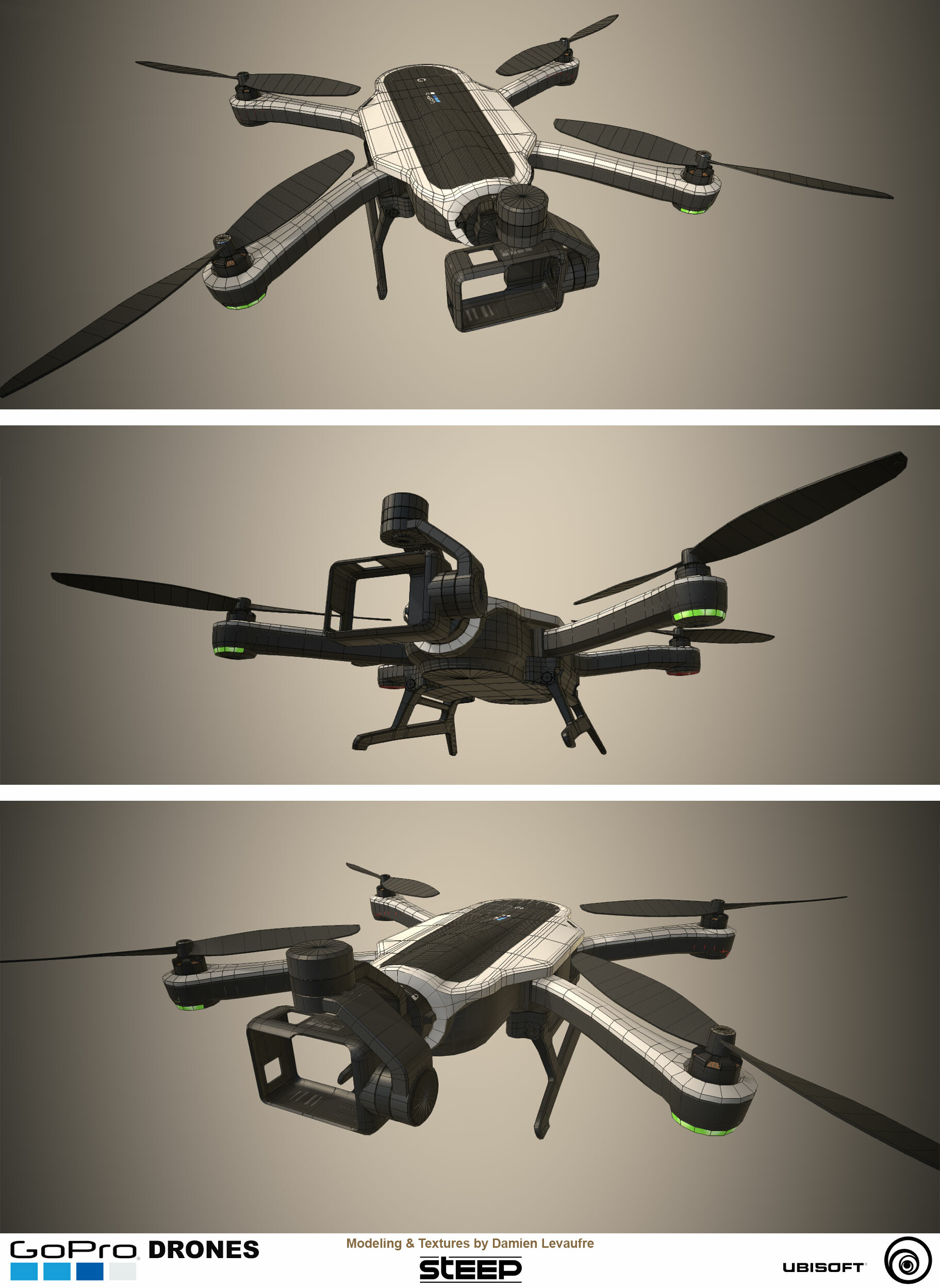 Damien levaufre drone wireframe