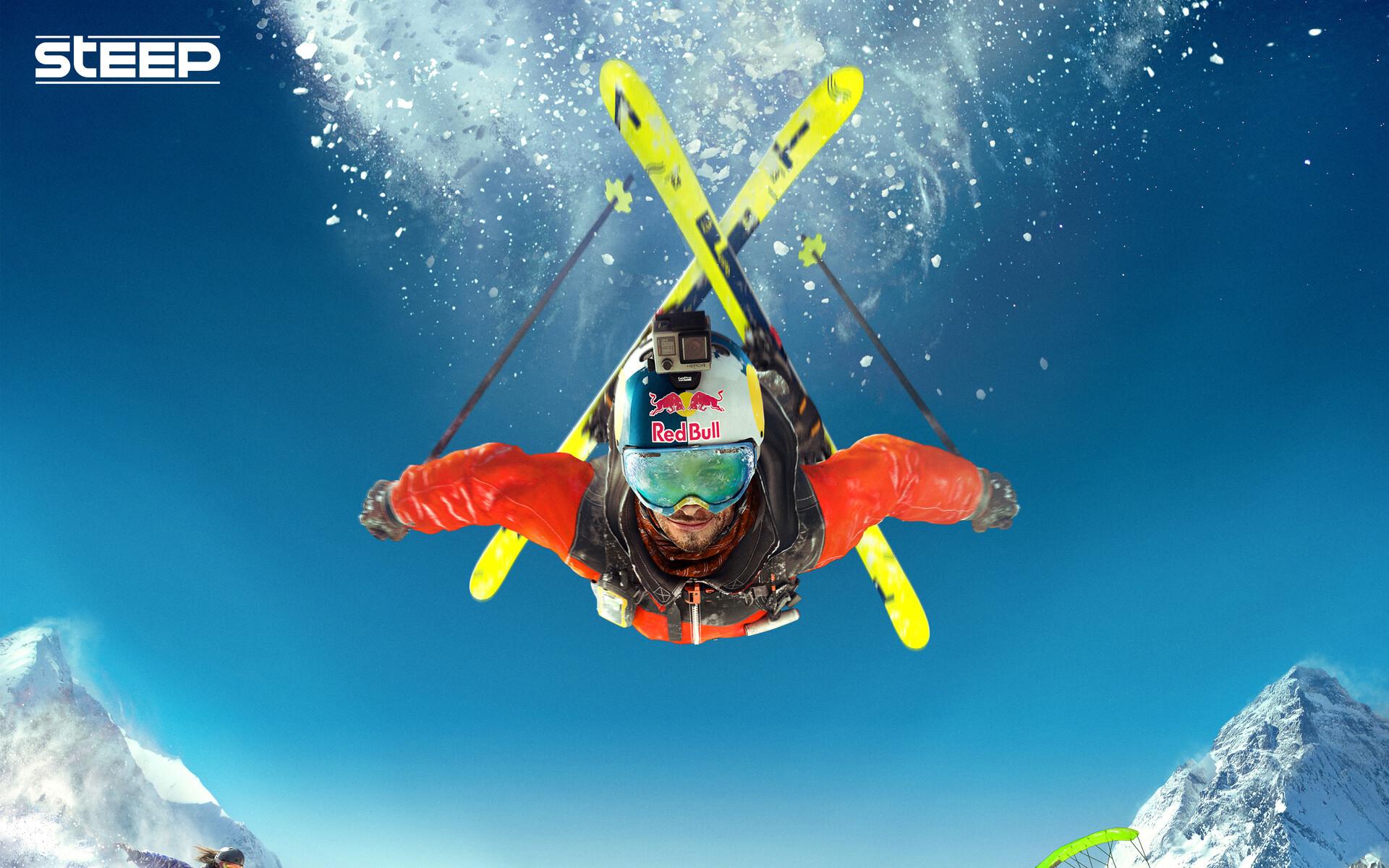 Damien levaufre steep skiing